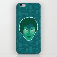 han solo iPhone & iPod Skins featuring Han Solo by Kuki