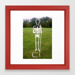 Bones E Framed Art Print