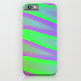 Colors swimming on grey iPhone Case