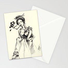 Oiran Stationery Cards
