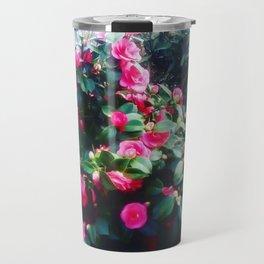 Camelias flowers. Travel Mug