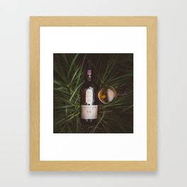 Lagavulin 16 Countryside Framed Art Print