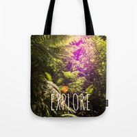 explore Tote Bags featuring Explore by Michelle McConnell