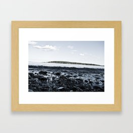 Pebbles To Pastures  Framed Art Print