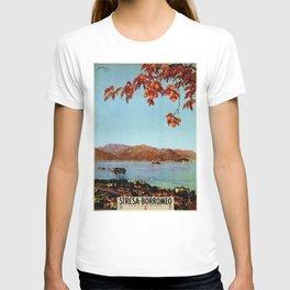 Stresa Borromeo Lake Maggiore 1927 T-shirt