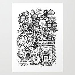 Une vie de dingue Art Print