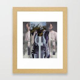 Ghostly Gets A Grip Framed Art Print