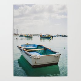 Fishing Boat - Marsaxlokk, Malta Poster