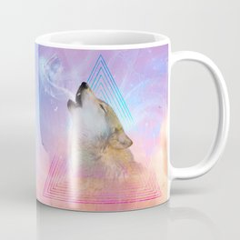 Dream By Day (Wolf Dreams - Remix Series) Coffee Mug