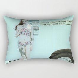 Ice Cream Popcicle Chola Rectangular Pillow