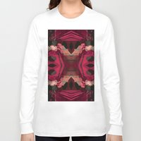 baroque Long Sleeve T-shirts featuring BAROQUE by Mike Maike