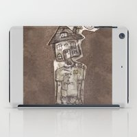 cartoons iPad Cases featuring Saturday Morning Cartoons 1: Homebody by Kayleigh Morin