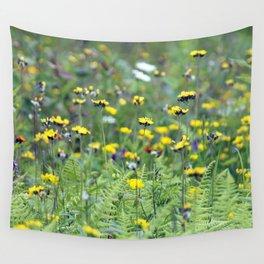 Summer Field Killington Vermont Wall Tapestry