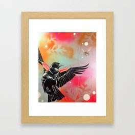 Birds and Bees Framed Art Print