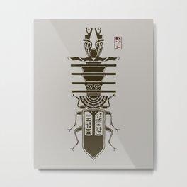 Kafkian Amulet I Metal Print
