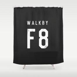 Walk by 'F8' (2) Shower Curtain