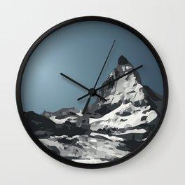 Matterhorn Wall Clock