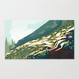 Hill Glows Canvas Print