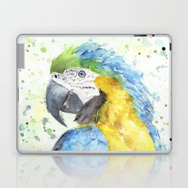 """Watercolor Painting of Picture """"Macaw"""" Laptop & iPad Skin"""