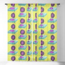 Acid Vinyl Sheer Curtain