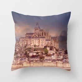 Skt Michele - France Throw Pillow