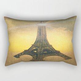A Beacon of Light in Paris Rectangular Pillow
