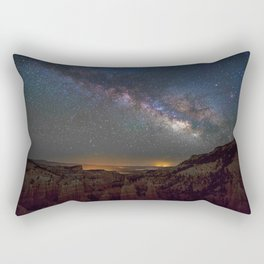 Bryce Canyon Night Skyline Rectangular Pillow