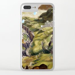 Sydney W. Carline The Destruction of the Turkish Transport in the Gorge of the Wadi Fara, Palestine Clear iPhone Case