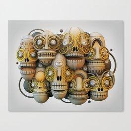 a new face Canvas Print