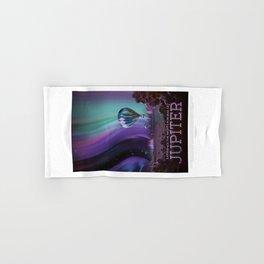 Jupiter - NASA Travel Poster Hand & Bath Towel