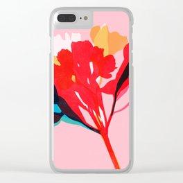 alstroemeria 4 Clear iPhone Case