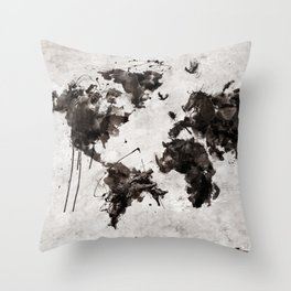 Wild World Throw Pillow