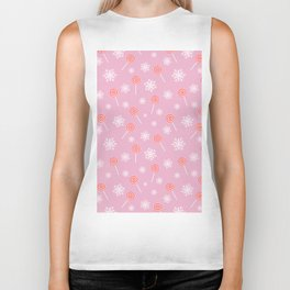 Winter lollipop design Biker Tank