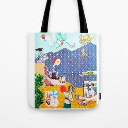 Everything is beachy by Yael Avissar Tote Bag