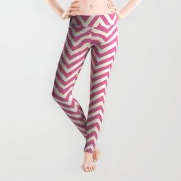 Light Pink Chevrons Leggings