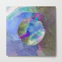 Abstract Mandala 234 Metal Print