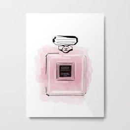Pink perfume #3 Metal Print