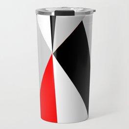 Triangles get together Travel Mug