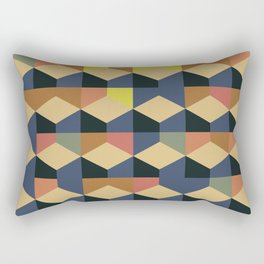 Abstract Geometric Artwork 59 Rectangular Pillow