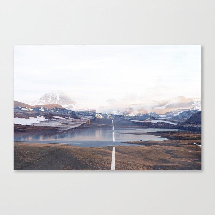 The Broken Way Canvas Print