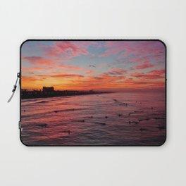 Huntington Beach Sunrise 10/30/14  Laptop Sleeve