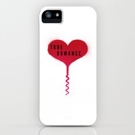 True Romance Corkscrew Heart iPhone Case