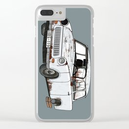 Trabant Clear iPhone Case