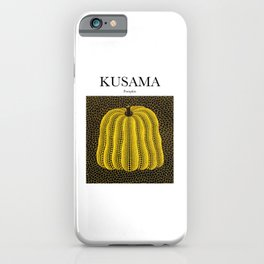 Kusama - Pumpkin iPhone Case