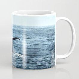 Ocean Teal Whale Coffee Mug