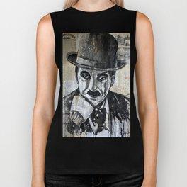 Charles Chaplin 2 Biker Tank