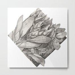 Ink Proteas Metal Print
