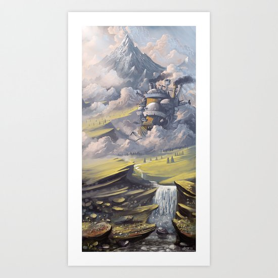 Howl's Art Print