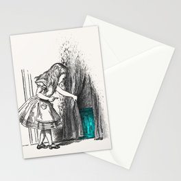 Follow The White Rabbit Stationery Cards
