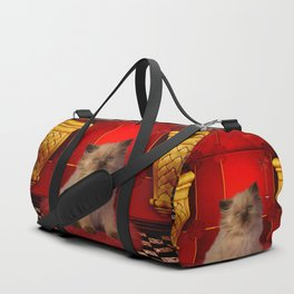 Cute little kitten Duffle Bag